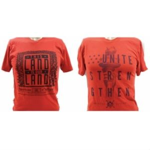 Lot of 2 American Apparel American Outlaws T-Shirt